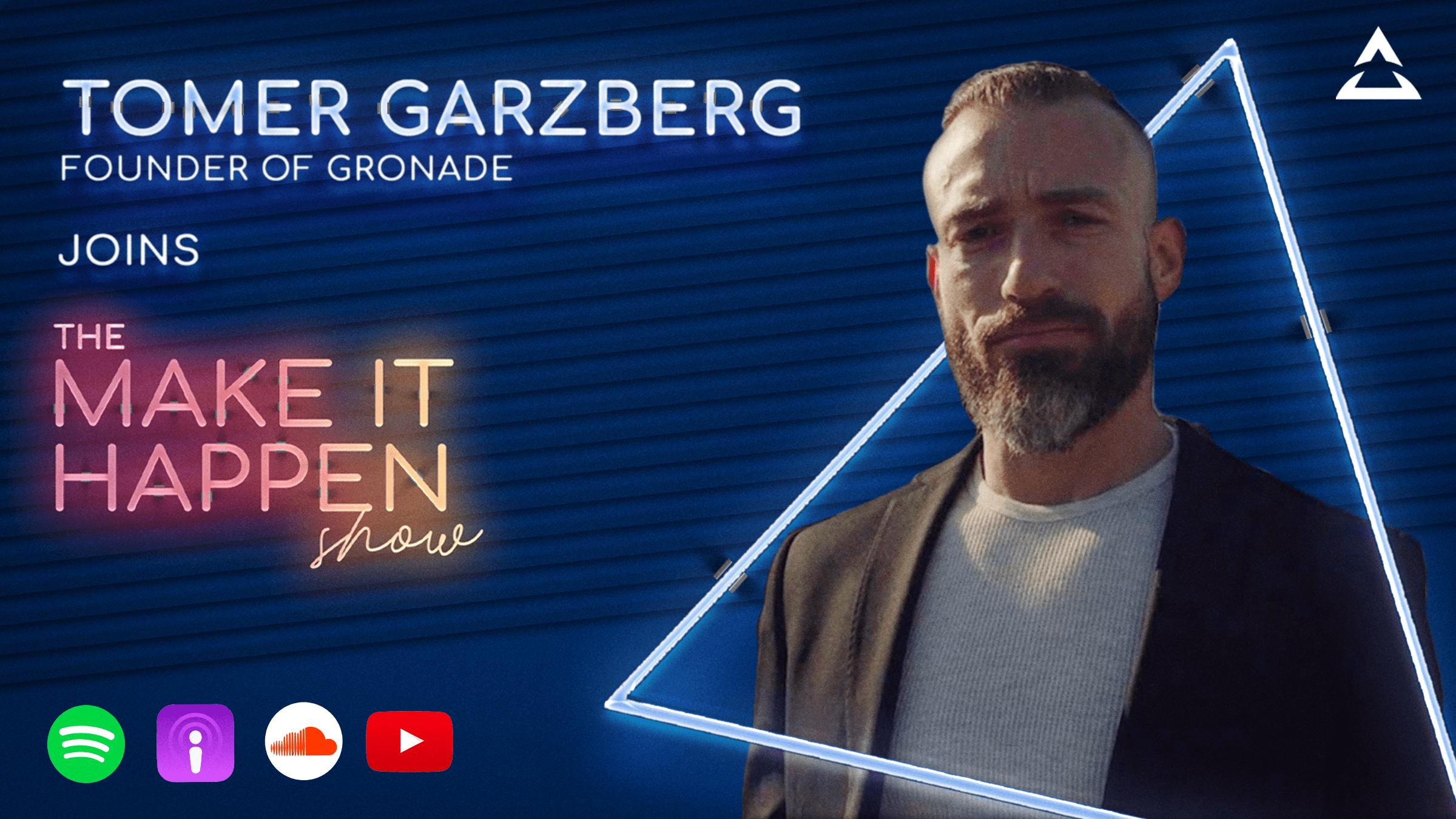 12. Tomer Garzberg promotional image for The Make It Happen Show