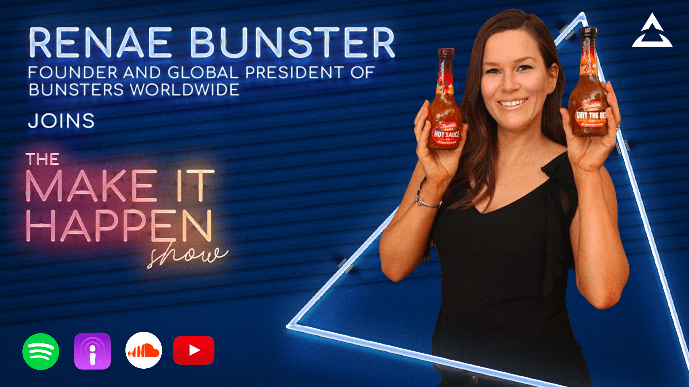 31. Renae Bunster promotional image for The Make It Happen Show