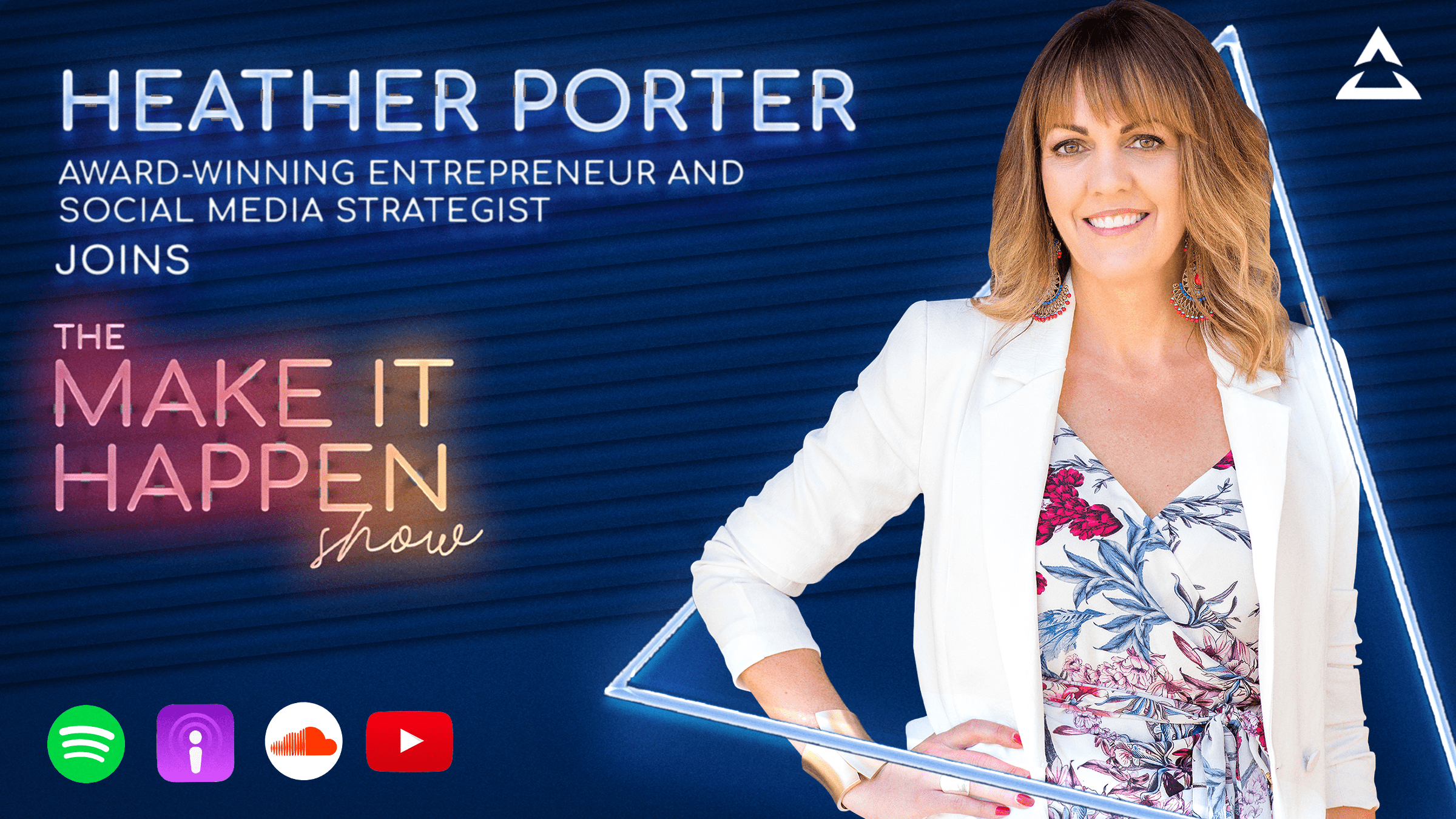 36. Heather Porterpromotional image for The Make It Happen Show