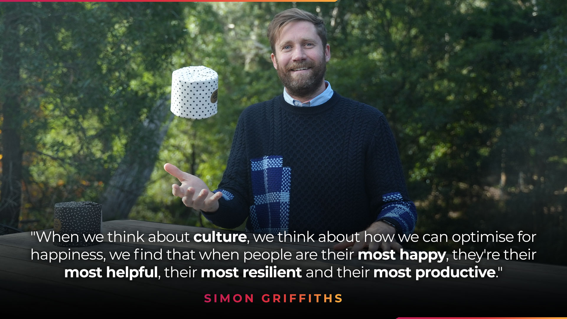 quote from Simon Griffiths