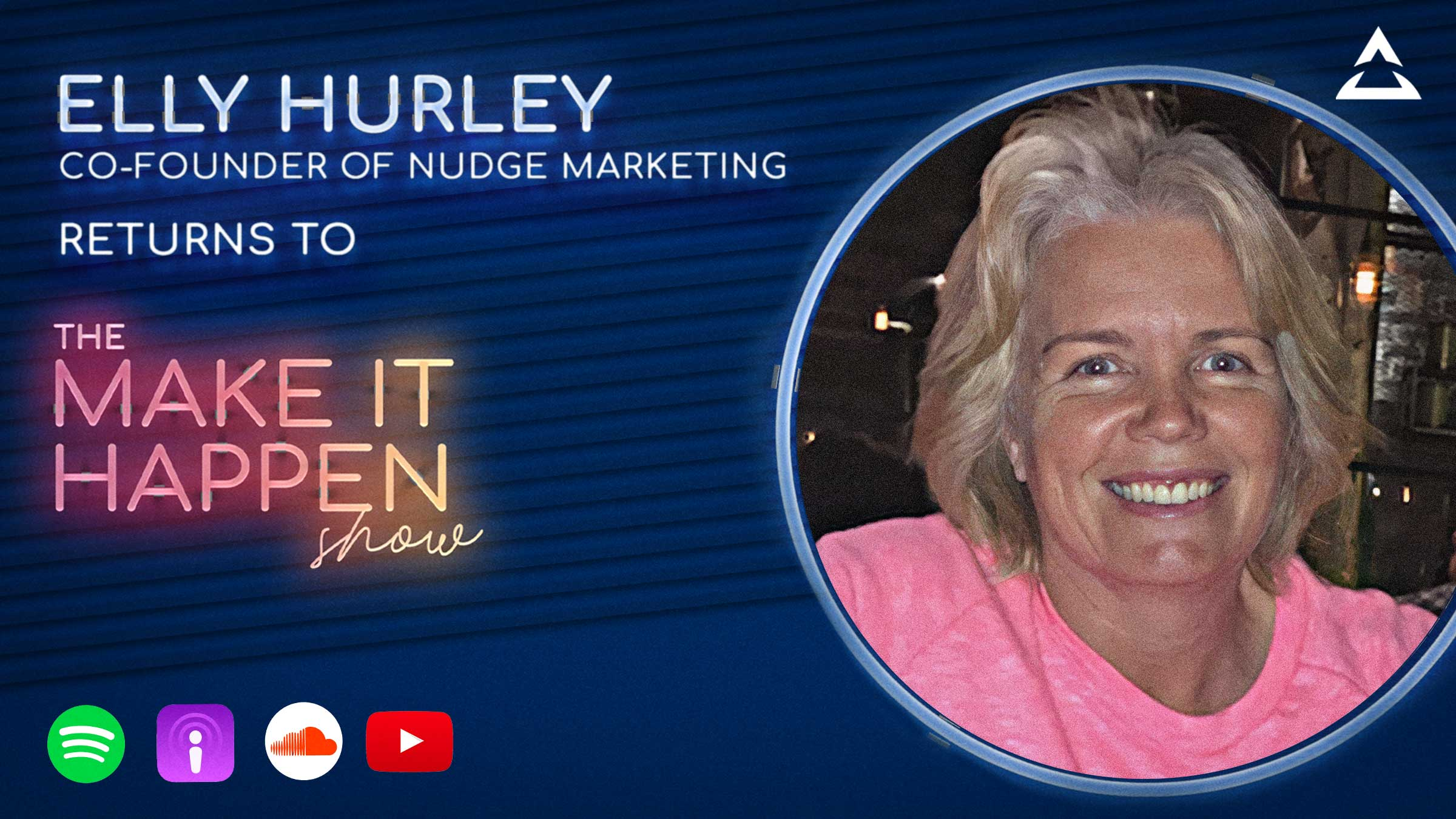 Elly Hurley returns to The Make IT Happen Show