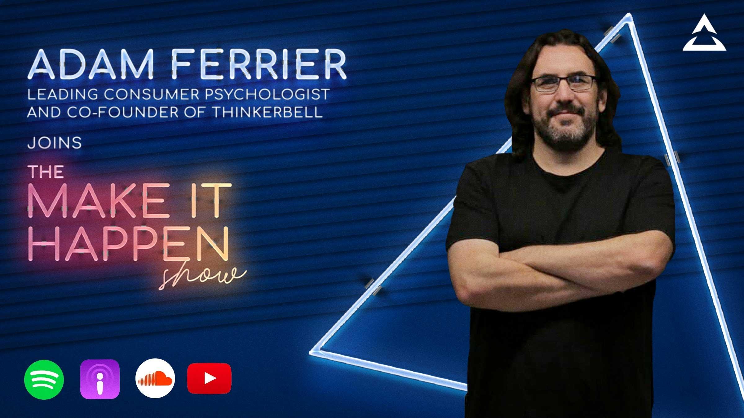 Adam Ferrier joins The Make It Happen Show promotional image