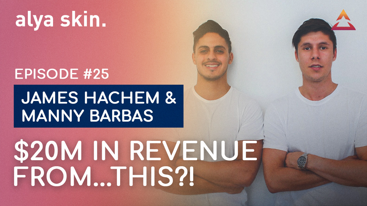 James Hachem & Manny Barbas — 500K customers, $20M revenue from this?!