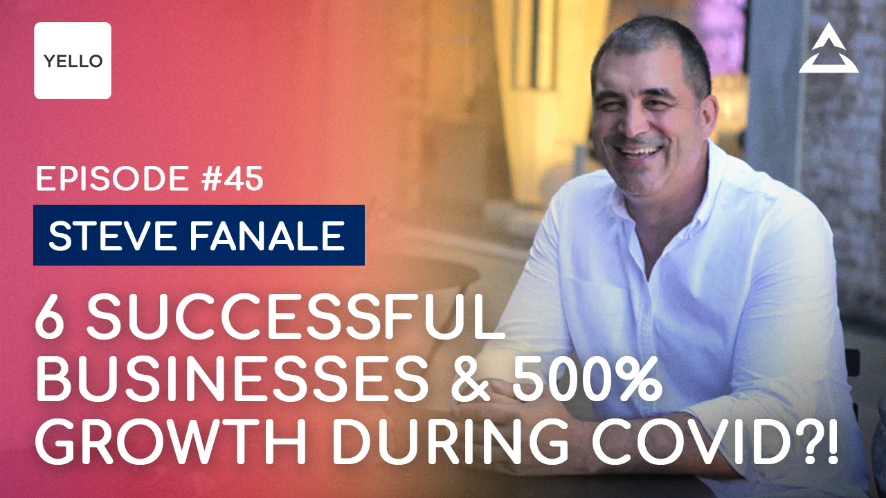 Steve Fanale - This is how you build multiple successful businesses