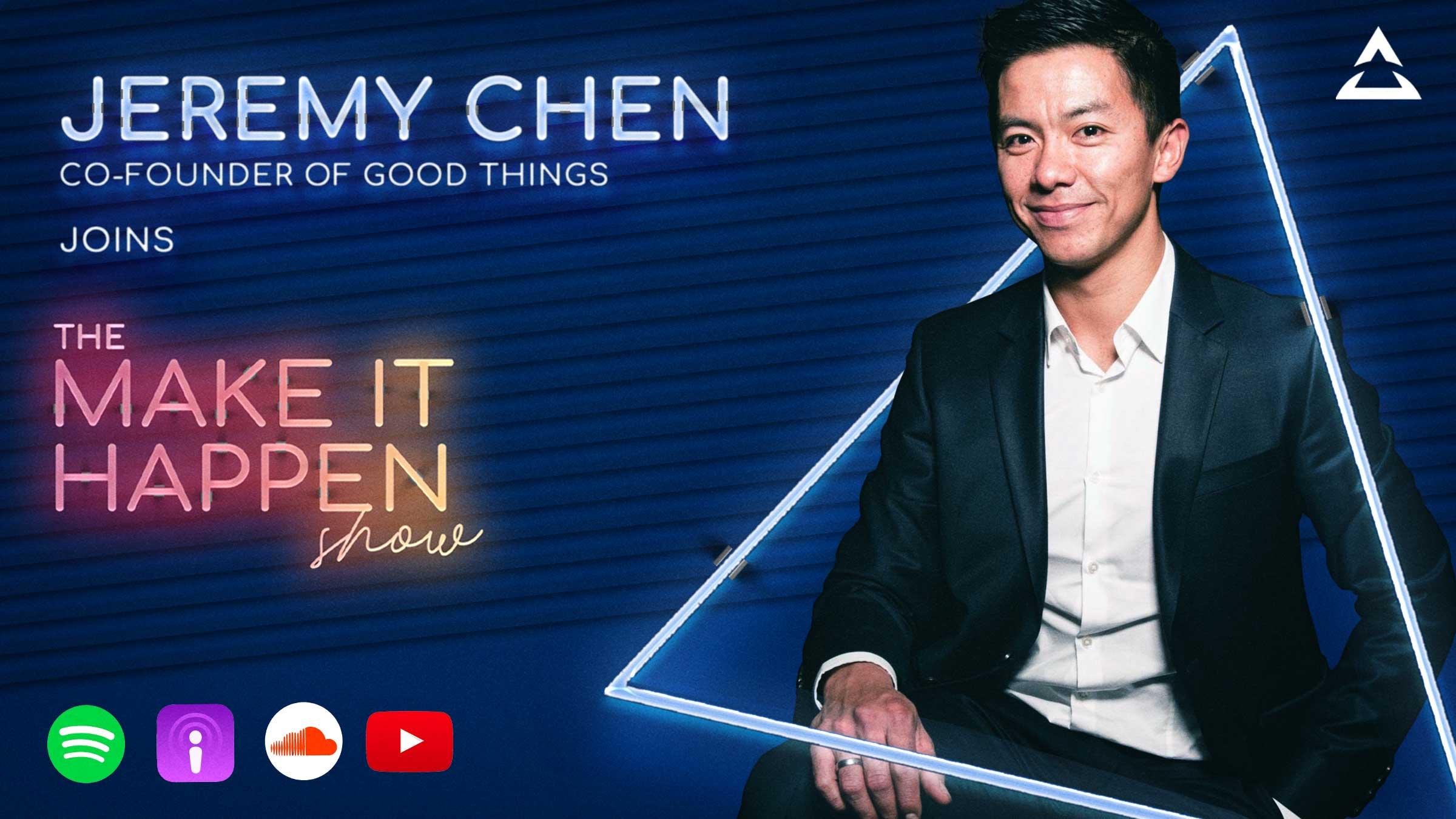 Podcast promo image Jeremy Chen