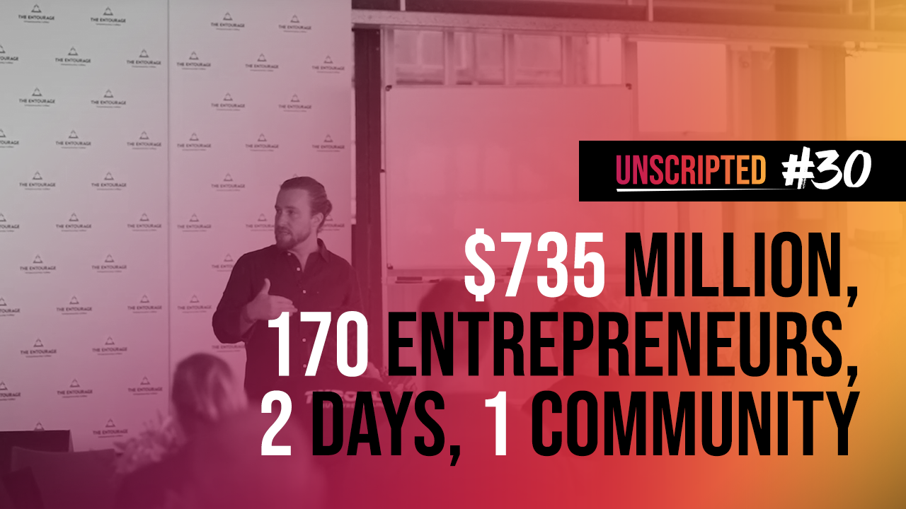 What $735 million and 170 entrepreneurs in one room looks like