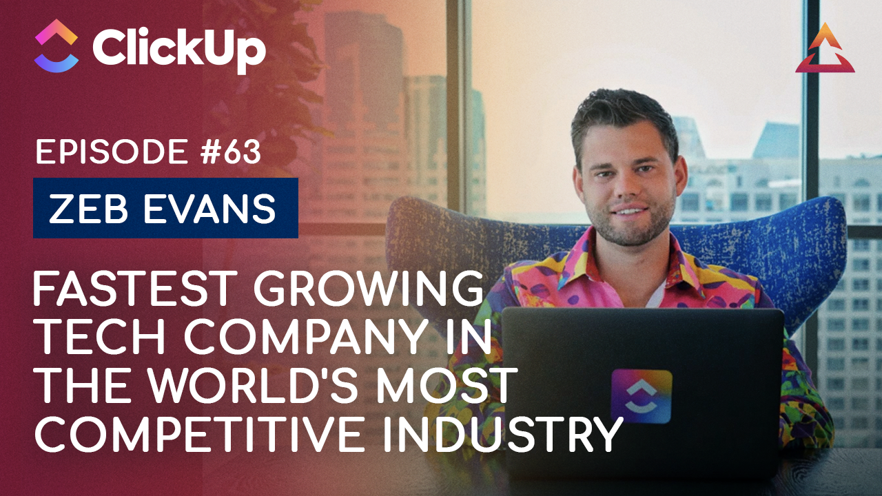 Zeb Evans — How to break into the world's most competitive industry