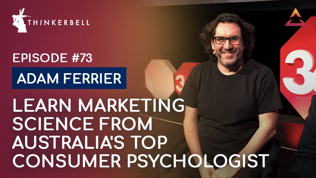 Adam Ferrier — The top marketing & brand strategy for business growth